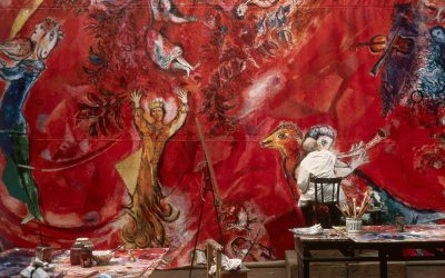 A Fashion Fantasia Chagall's Dazzling Stage Tableaux