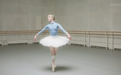 Becoming Plum Mario Testino Goes Behind The Pointe Shoe