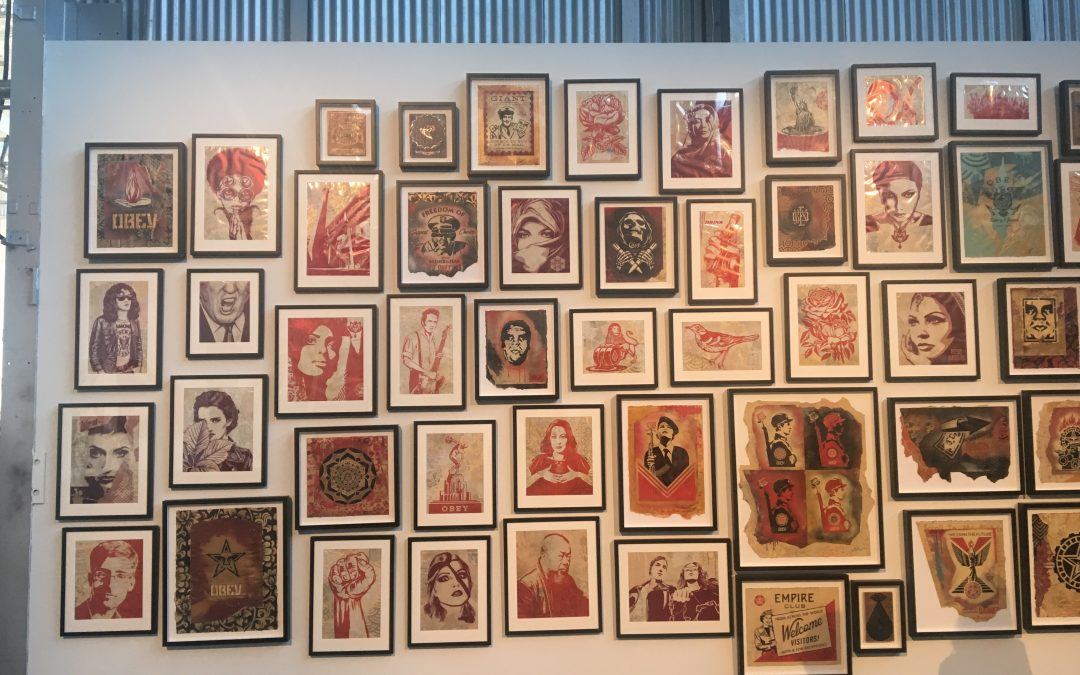 Shepard Fairey: 'Damaged' The Weaponization of Imagery