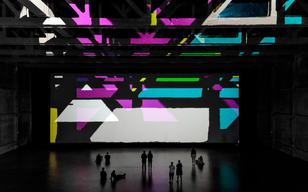 Olafur Eliasson: 'Reality projector' Sit, Walk, Look, Embrace