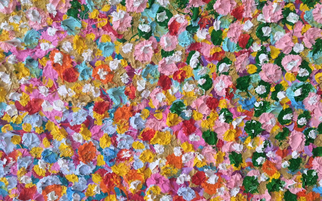 Damien Hirst: The Veil Paintings Shrouded In Dots