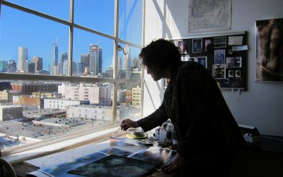 Aline Mare Examining The Animate & Inanimate