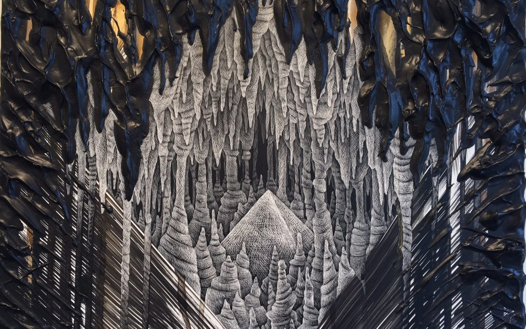 Kelly Berg: 'Unknown Horizon' Fantastical, Neo-Intergalactic Works