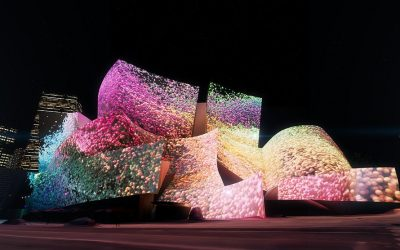 """LA Phil Presents """"WDCH Dreams"""" for 100th Anniversary Live Projections by Media Artist Refik Anadol onto the Exterior of Walt Disney Concert Hall"""