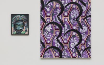Lari Pittman: 'Portraits of Textiles & Portraits of Humans' Dialectical Relationships