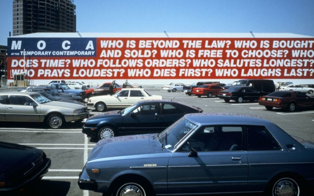 Barbara Kruger Mural to be Reinstalled for MOCA's 40th Anniversary