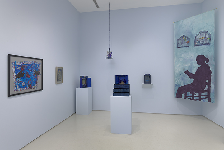 Betye Saar: 'Something Blue' Subverting Established Systems of Thought