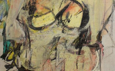 Getty and University of Arizona Partner to Conserve Long Lost Willem de Kooning Painting