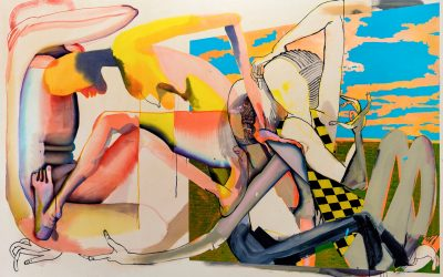 Christina Quarles: 'But I Woke Jus' Tha Same' Moving From the Representational to the Gestural