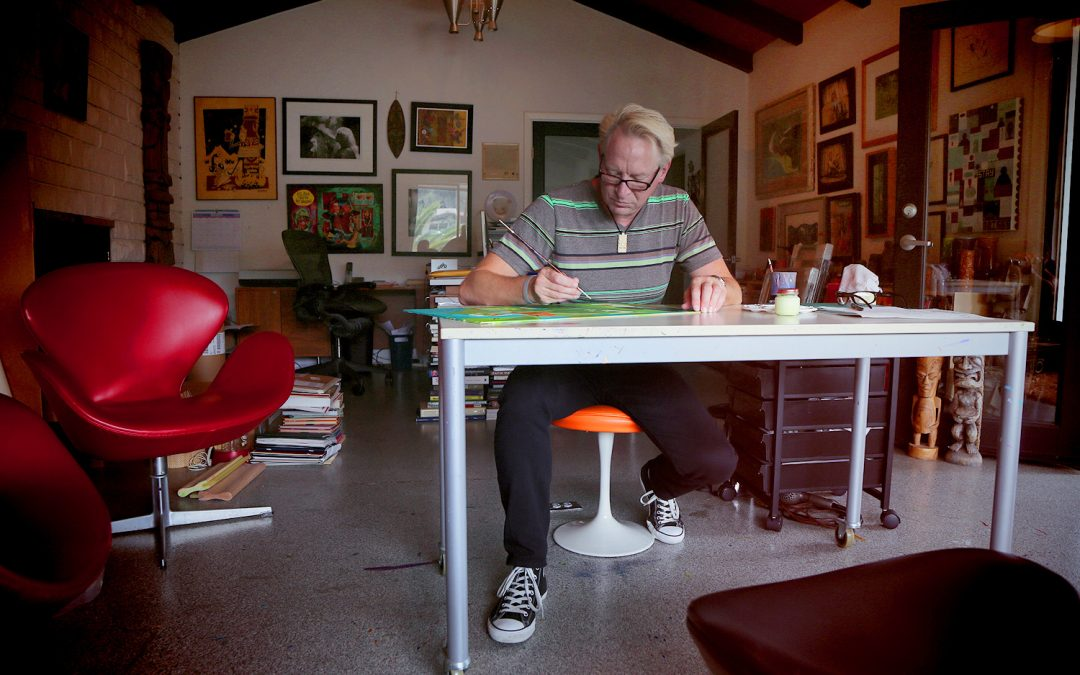 Shag Lowbrow Artist Extraordinaire