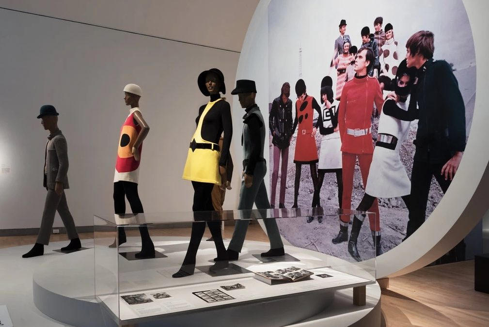 Retrospective in 40 Years of Innovative Fashion Designer Pierre Cardin at The Brooklyn Museum