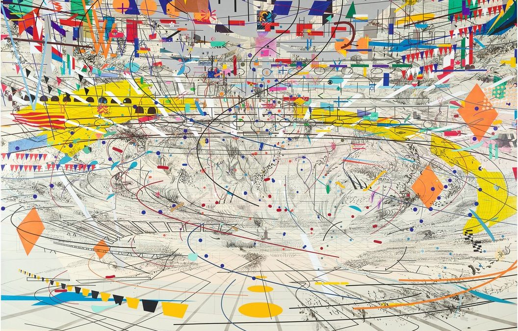 Julie Mehretu Resonating Beyond Formal Qualities