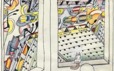 """Pace Gallery Presents Online Exhibition """"Saul Steinberg: Imagined Interiors"""""""