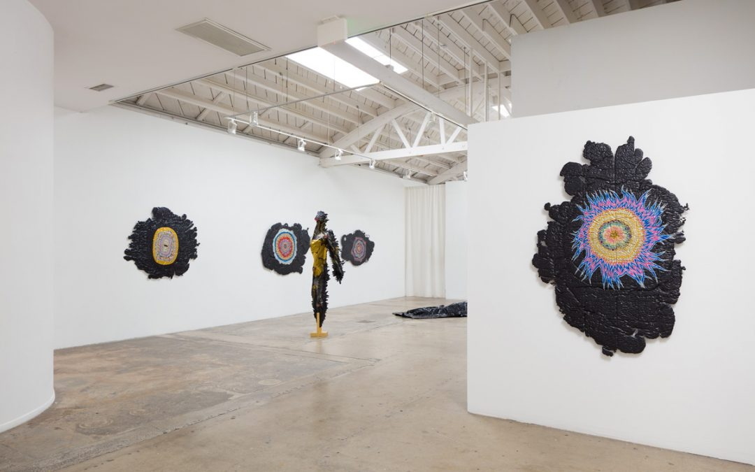 Jamison Carter: 'All Season Radials' Merging Drawn and Sculpted Elements