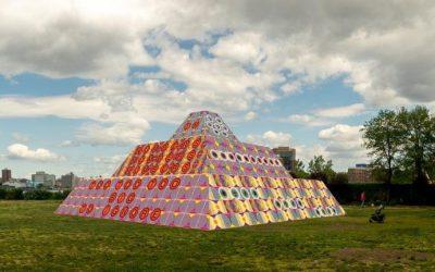 Jeffrey Gibson's Sculpture Kicks Off Multi-Phase 'Monuments Now' Exhibition