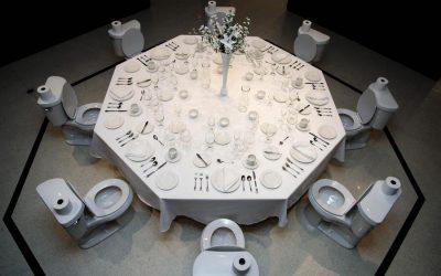 Paul Ruscha's 'Dinner for Donald' Among Highlights in OK/LA