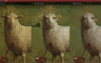 The Getty and Royal Institute for Cultural Heritage Announce Enhancements to Ghent Altarpiece Website Closer to Van Eyck offers a 100 billion-pixel view of the world-famous altarpiece, to be enjoyed from home