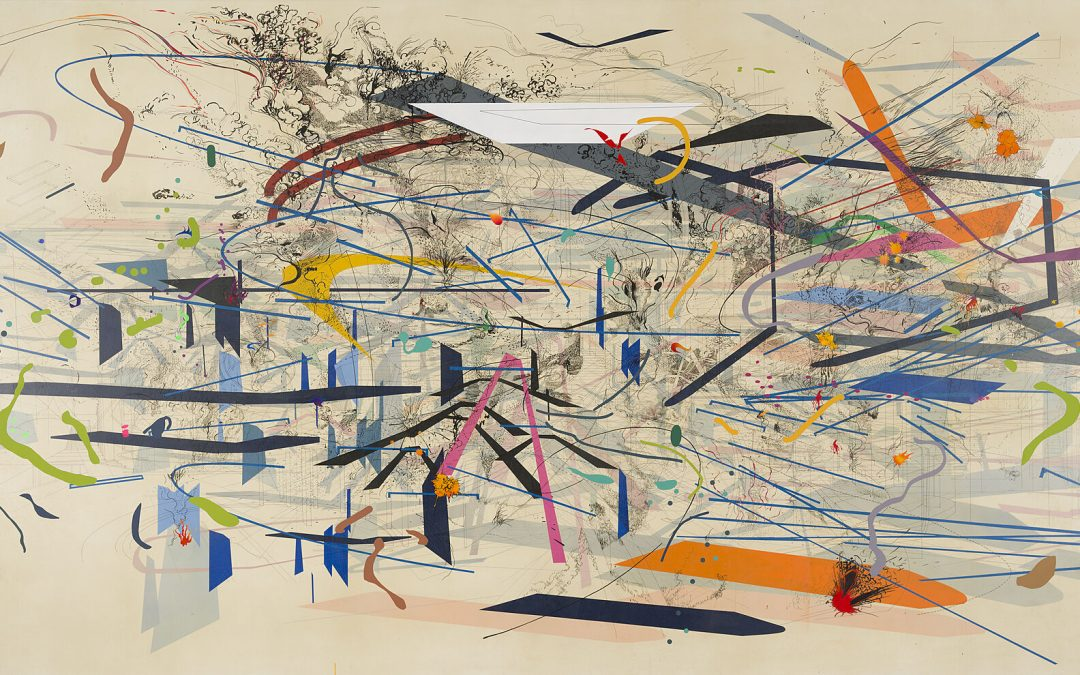 Comprehensive Survey Of Artist Julie Mehretu's Career Opens At Whitney Museum Of American Art This March