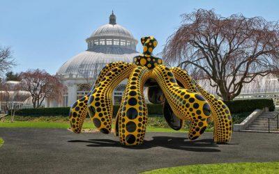 """""""KUSAMA: Cosmic Nature"""" Opens at The New York Botanical Garden"""
