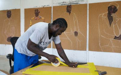 Serge Attukwei Clottey Exploring Issues of Belonging and Place