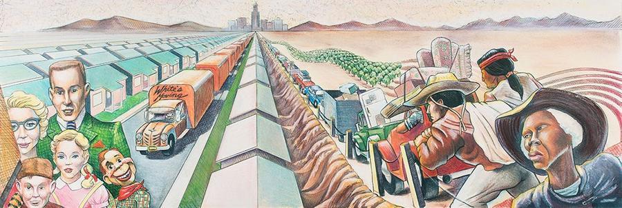 Lucas Museum Acquires Half-Mile Long Mural