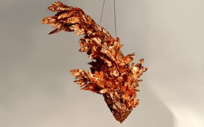 Frank Gehry Unveils Suspended Fish Sculptures at Gagosian Beverly Hills