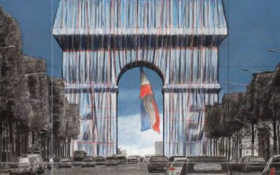 Christo and Jeanne-Claude's L'Arc De Triomphe, Wrapped
