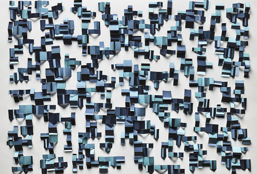 Christiane Feser: 'In Between' Creating Maze-Like Configurations