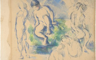 MOMA Presents Paul Cézanne's Experimental Drawings And Watercolors